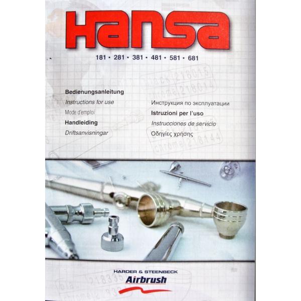 213815 Hansa 381 Schwarz